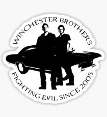 Winchester Brothers Sticker
