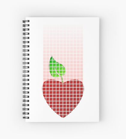 not only artichokes have hearts... Spiral Notebook