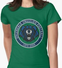 Remember the Grizzlies Womens Fitted T-Shirt