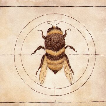 Bee by elykpaint