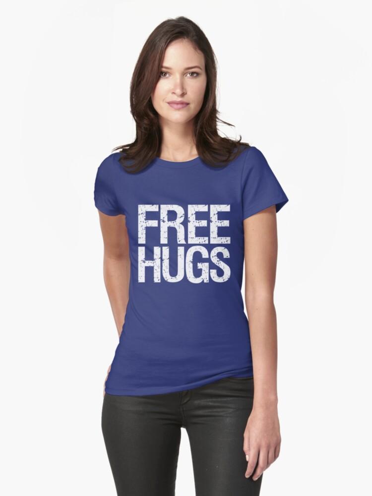 Free Hugs (White) by DropBass