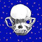Pug Skull by jazzmoth