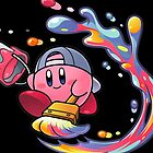 Painting Kirby by DaYellowBeaer