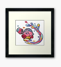 Painting Kirby Framed Print