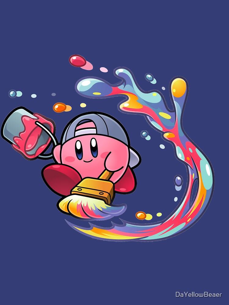 Malerei Kirby von DaYellowBeaer