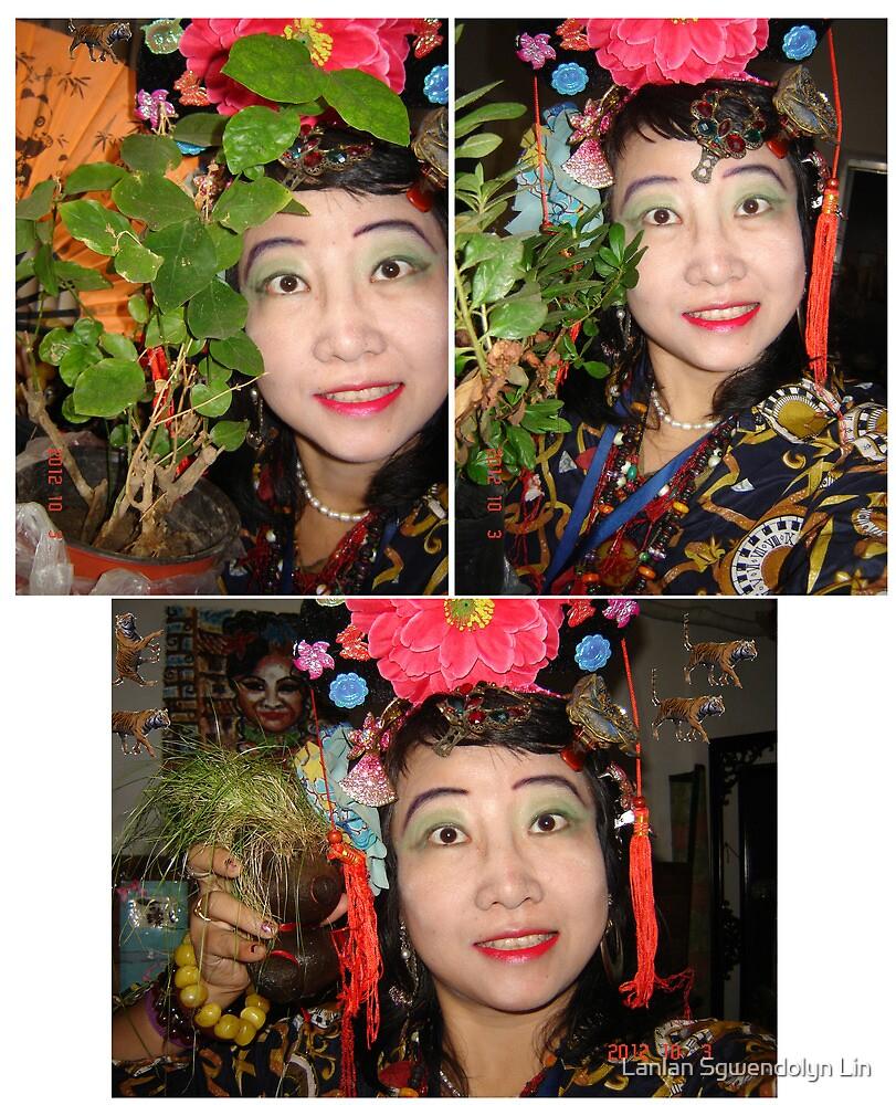 Combien que je suis beaux, heureux, content, parfait, joli, enchante, ivre, travailleur, saga, tant mieux, fier, cueillant, remarquable toujours et fleur de azalea et jamsmin! Merci! by Lanlan Sgwendolyn Lin