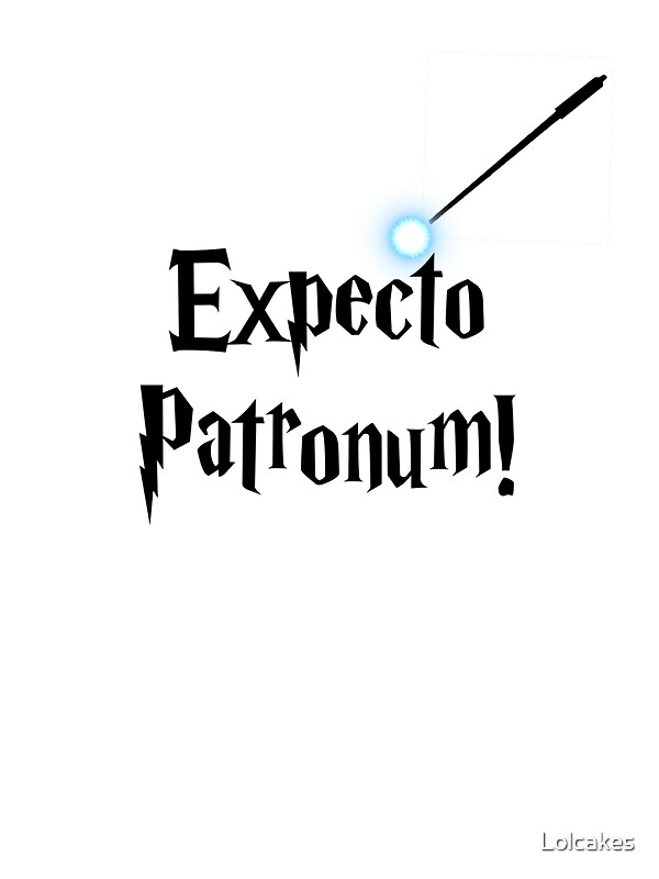 Quot Expecto Patronum Quot Stickers By Lolcakes Redbubble