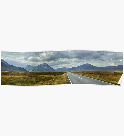 The Road To Glen Coe Poster