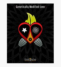 Genetically Modified Love Photographic Print