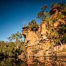 Australia - Outback Gorge I by lesslinear