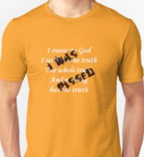 I Swear to God I Was Pissed Unisex T-Shirt