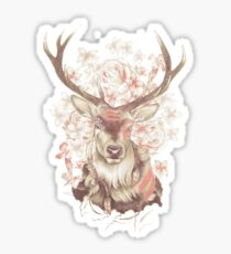 Stag of my Dreams Sticker
