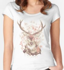 Stag of my Dreams Women's Fitted Scoop T-Shirt