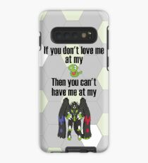 Zygarde - If you don't love me at my Core Case/Skin for Samsung Galaxy