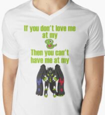 Zygarde - If you don't love me at my Core V-Neck T-Shirt