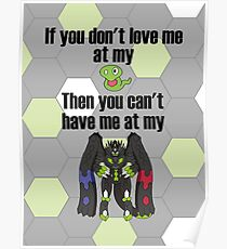 Zygarde - If you don't love me at my Core Poster