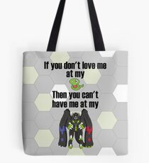 Zygarde - If you don't love me at my Core Tote Bag