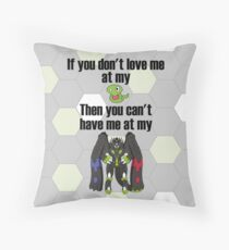 Zygarde - If you don't love me at my Core Throw Pillow