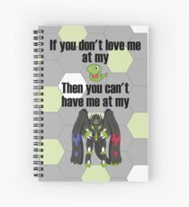 Zygarde - If you don't love me at my Core Spiral Notebook