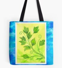 SPRING - BRUSH AND GOUACHE Tote Bag