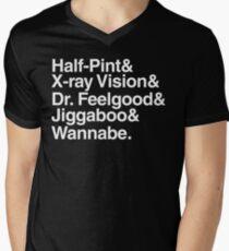 Discreetly Greek - School Daze Beatles Parody Mens V-Neck T-Shirt