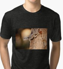 Southern Tree Agama, Kruger National Park, South Africa Tri-blend T-Shirt