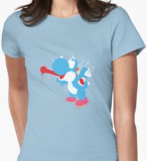 Blue Yoshi Splatter Design T-Shirt