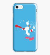 Blue Yoshi Splatter Design iPhone Case/Skin