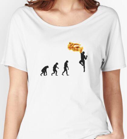 99 Steps of Progress - Shoryuken Women's Relaxed Fit T-Shirt
