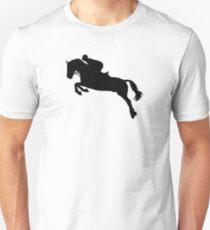 Horse show jumping Unisex T-Shirt