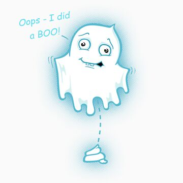 Oops - I did a Boo! Halloween Design by Bootee