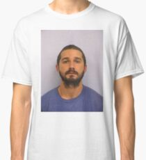 Shia Labeouf Mugshot Classic T-Shirt