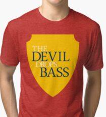 The Devil Drops Bass Tri-blend T-Shirt