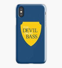 The Devil Drops Bass iPhone Case/Skin