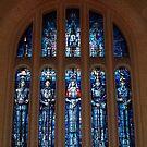 Australian War Memorial Canberra - leadlight Window by Bev Pascoe