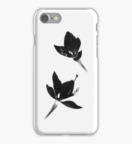 Black|White [Print and iPhone / iPad / iPod Case] iPhone Case/Skin