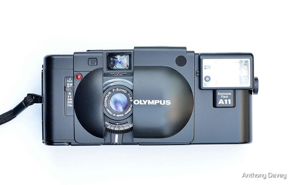 Olympus XA 35mm by AnthonyDavey