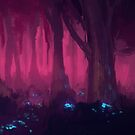 The Pink Forest by MylaFox