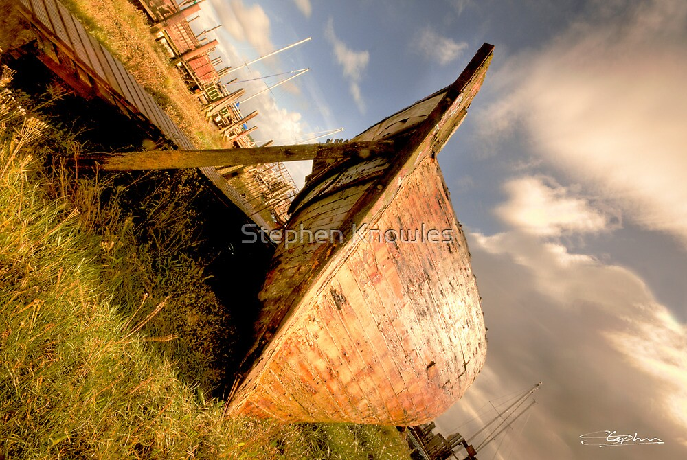 Skippool Boat (HDR) by Stephen Knowles