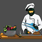 Master Chief / Chef ? by tombst0ne