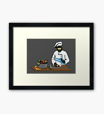 Master Chief / Chef ? Framed Print