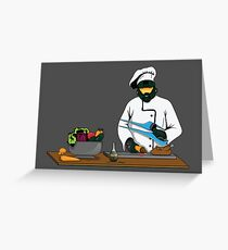 Master Chief / Chef ? Greeting Card
