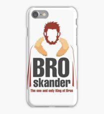 Broskander iPhone Case/Skin