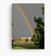 Meiklejohn Elementary is the Pot of Gold Canvas Print