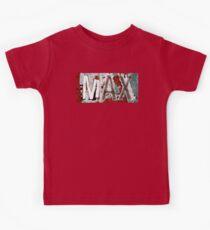MAX. Kids Tee