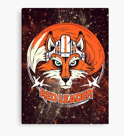 Red Leader Canvas Print