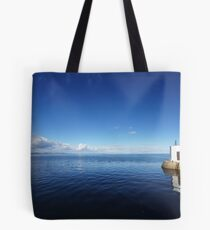 Fishing In The Deep Blue Sea Tote Bag