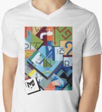 Monopoly Mens V-Neck T-Shirt