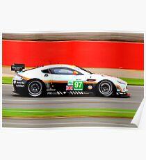Aston Martin Racing No 97 Poster