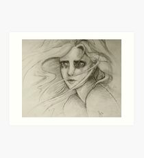 That Moment of Heart-Wrenching Realisation. Art Print